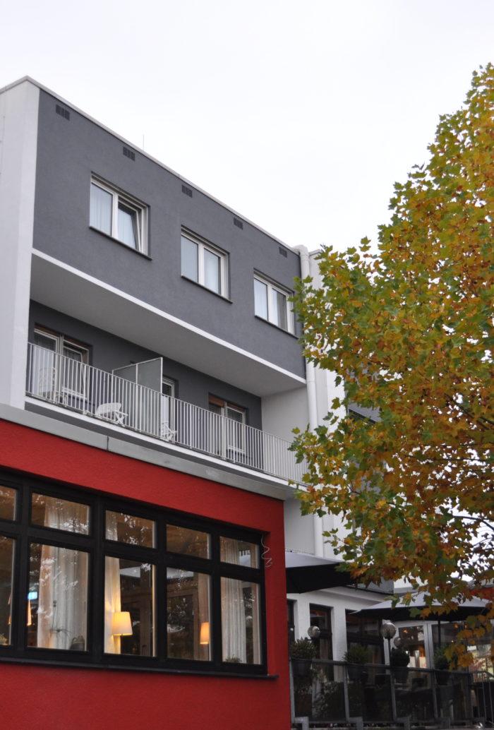 Hotel Klein Frankfurt am Main Seitenansicht
