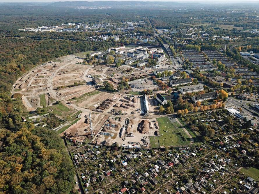 Bauprojekt Pioneer Park