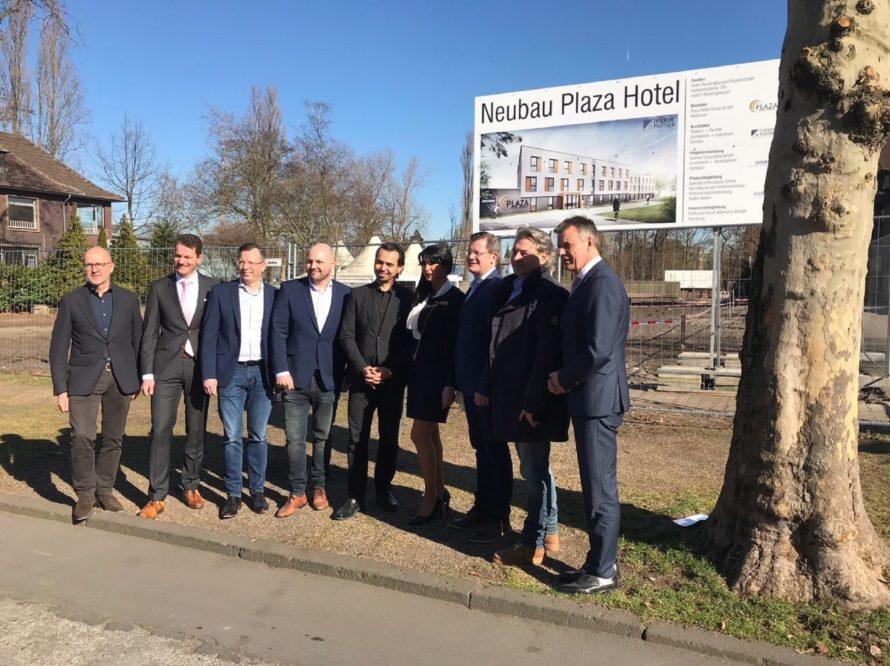 Spatenstich für das neue PLAZA Hotel in Recklinghausen erfolgt.