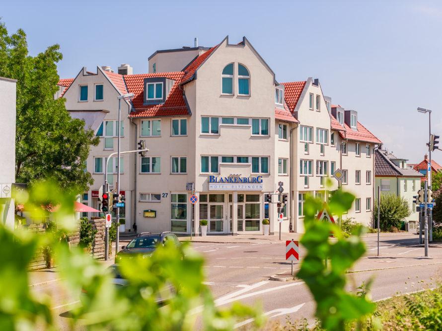 Vier Sterne Hotel Blankenburg in Ditzingen